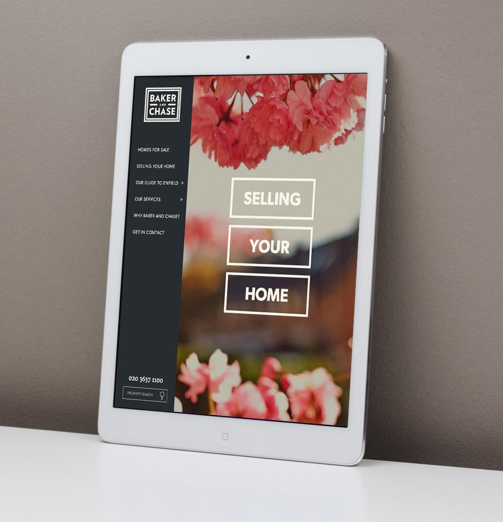 iPad optimised website