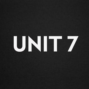 corporate branding for Unit 7