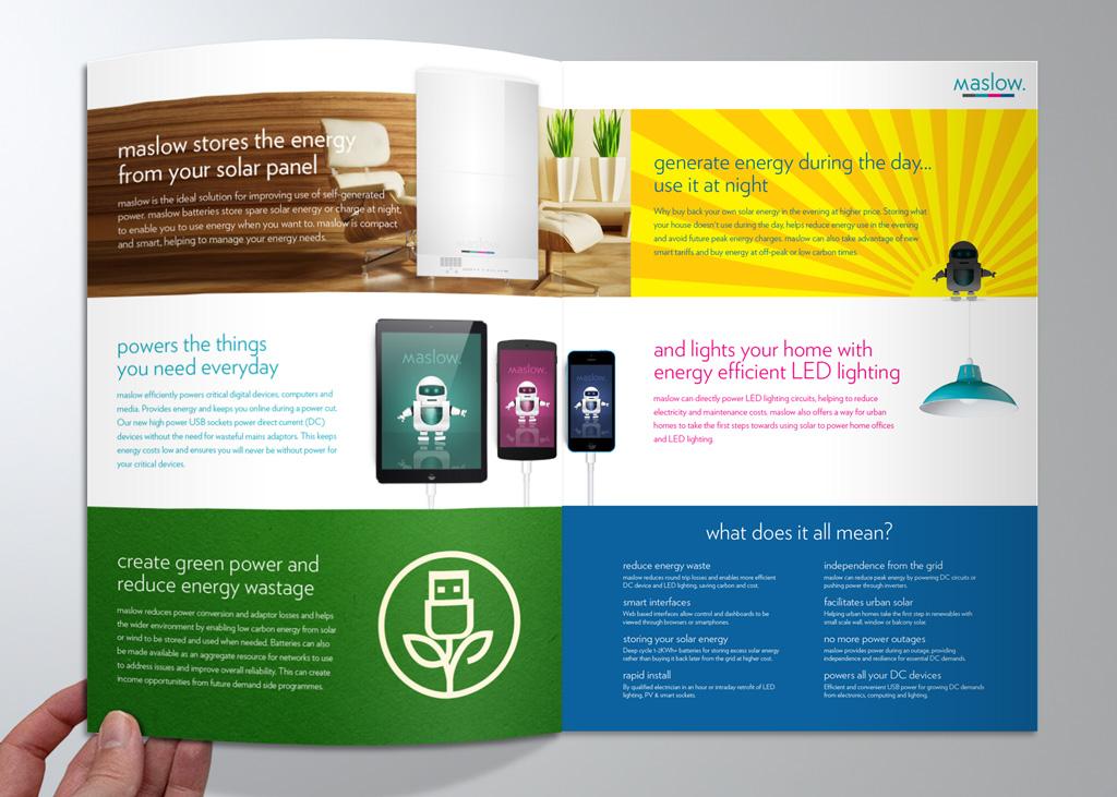 maslow brochure