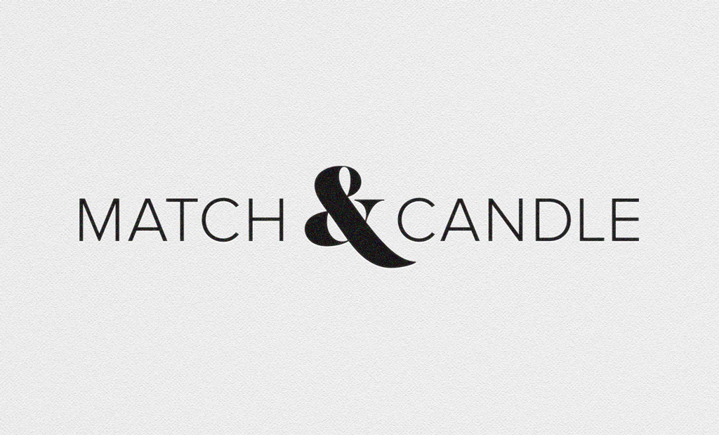 match & candle corporate logo